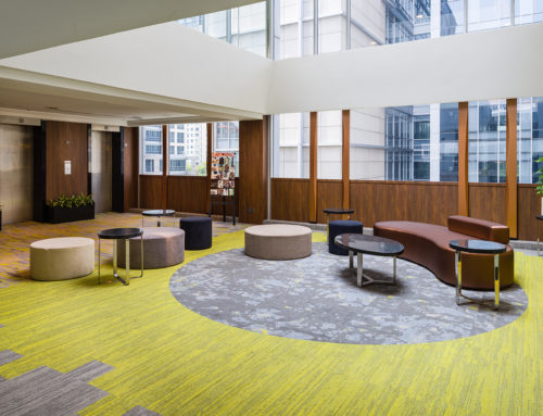 Park Avenue Clemenceau- Level 4 Serviced office and level 5 lobby